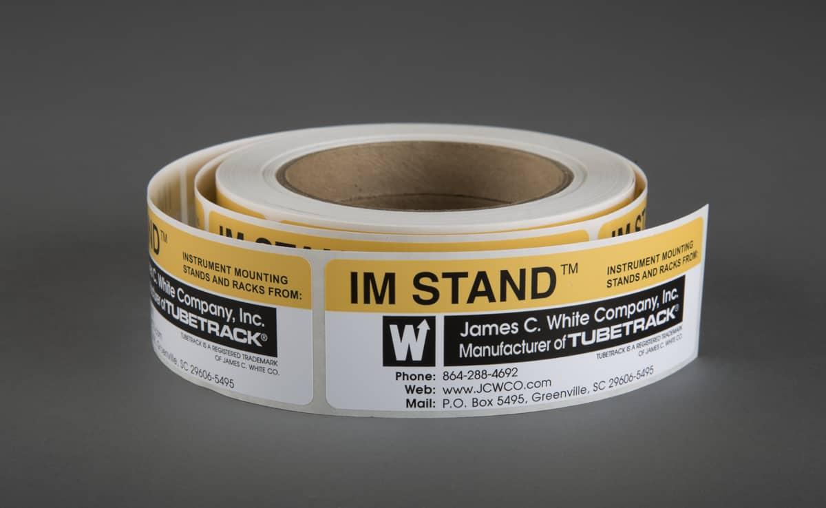 IM Stand Label
