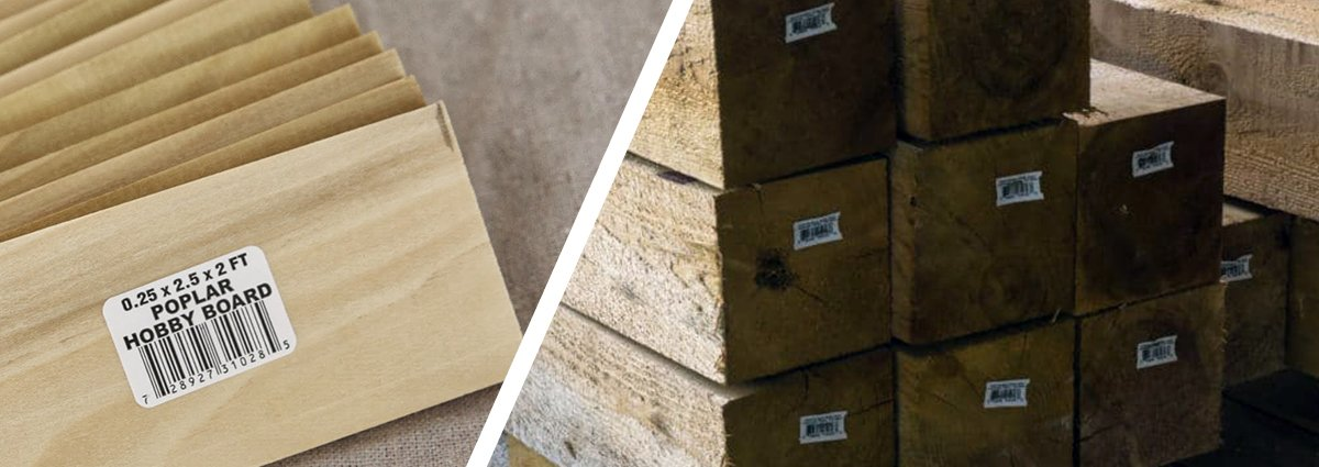 Lumber Labels & Tags